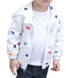 SMALLE ◕‿◕ Clearance,Jacket Kids Katon Zipper Hooded B