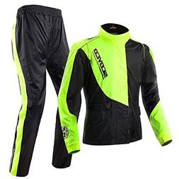 Scoyco RC01 Motorcycle Rain Coat Pants Set Protective Gear