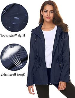 Shops Waterproof Coats For Women Plus Size Rain Jackets With