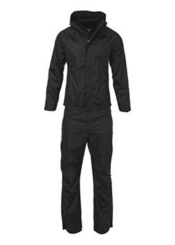Swiss Alps Womens Ripstop Water-Resistant 2 Piece Rain Suit