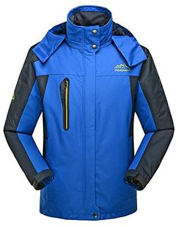 TBMPOY Men's Lightweight Quick-Dry Breathable Jacket Hiking
