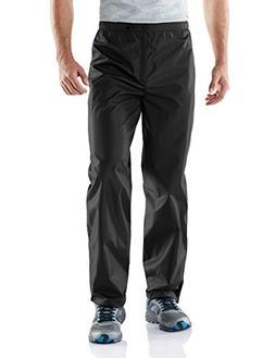 Tesla TM-MEB02-BLK_Medium Men's Outdoor Rain Pants Watertigh