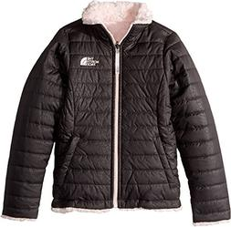 The North Face Girl's Reversible Mossbud Swirl Jacket - Grap