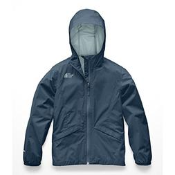 The North Face Girls Zipline Rain Jacket - Blue Wing Teal -