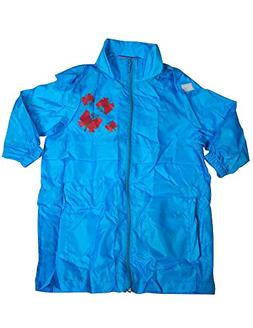 Totes - Little Girls Packable Rain Jacket, Turquoise 35423-3
