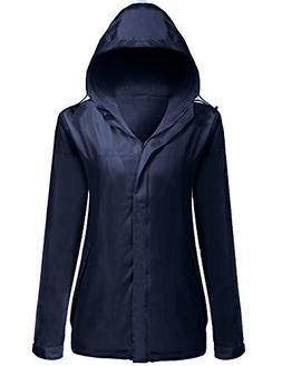 Unibelle Womens Rainwear Active Outdoor Hooded Cycling Packa