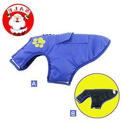 Waterproof Dog Coat, HungMeo Pet Vest Clothes for Dog Cat Pu