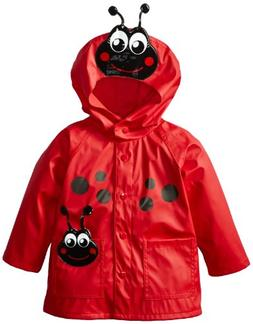 Western Chief Kids Soft Lined Character Rain Jackets, Lucy t