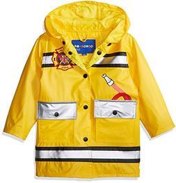 Wippette (Raincoats Toddler Boys' Printed, Fireman Gold-Matt