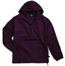 Women's Ultra Light Pack-N-Go Pullover - Maroon, 2X-Large