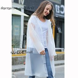 YUDILI YY Raincoat, fashion female transparent raincoat adul