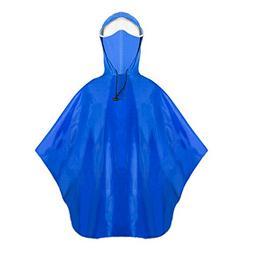 ZDHGLOBAL Rain Poncho, Waterproof Raincoat With Hoods For Ou