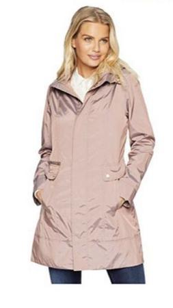 Additional Price Reduction Cole Haan Taffeta Rain  Coat- Blu