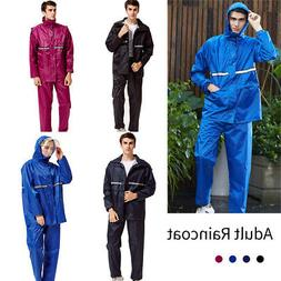 Adults Womens Mens Waterproof Oxford Rain Suit Jacket & Trou