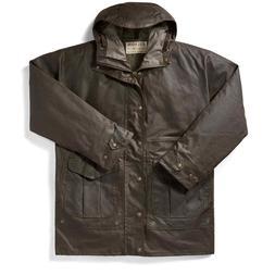 Filson All Seasons Rain Coat Orca Gray Water Resistant, Men'