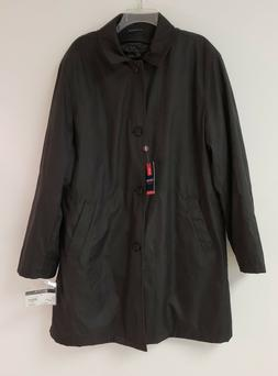 Stafford All Weather Black Removable Quilted Liner Rain Over