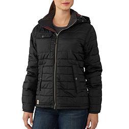 Carhartt Women's Amoret Jacket, Black, S