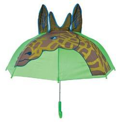 Rinco AMUMGIR Giraffe Rain Animal Series Kids Shield Umbrell