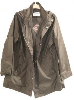 Ava & Viv wind rain coat Plus size 4X Black NEW