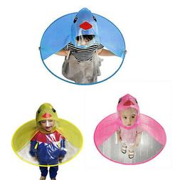 Baby Boys Girls Kids Children Duck Raincoat Umbrella Kinderg