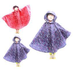 Baby Children Kids Waterproof Rain Coat Rainwear Rain Suit P