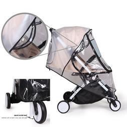 Baby Stroller Rain Cover Wind Universal Rain Canopy Raincoat