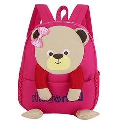YJYdada Backpack, Baby Boys Girls Kids Bag Bear Pattern Cart