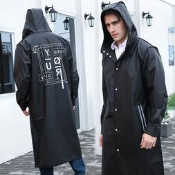 Yuding Balck Fashion <font><b>Long</b></font> Men Raincoat U