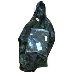 bdu Parka, Wet Weather Top And Bottom Rubber Brand New CIF 2