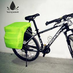 Bicycle Waterproof Cover Rear Seat Carrier Bag Rack Pannier