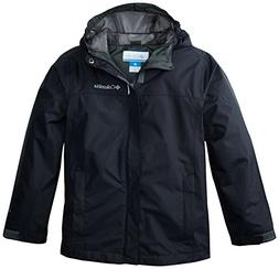Columbia Big Boys' Watertight Jacket, Black, Large