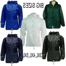 Big Sizes Unisex  Rain Coat Jacket KAGOOL/KAGOUL/CAGOULE/ SI