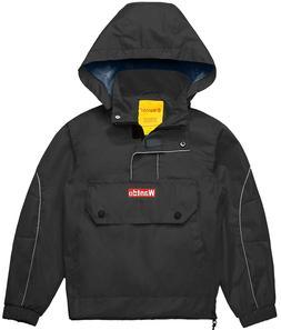 Wantdo Boy's Girl's Lightweight Waterproof Rain Coat Hooded