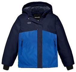 Wantdo Boy's Warm Rain Jacket Padded Windbreaker Winter Coat