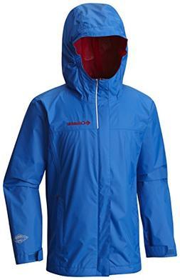 Columbia Boys' Big Watertight Jacket, Super Blue, X-Large