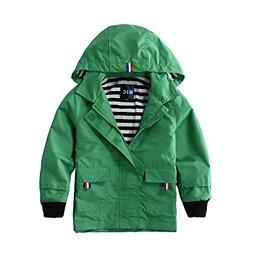 M2C Boys Raincoat Hooded Jacket Outdoor Light Windbreaker 3T