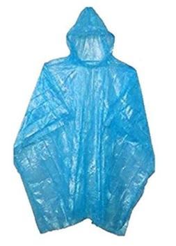 Wealers Rain Ponchos for Adults & Teens - Disposable Rain Po