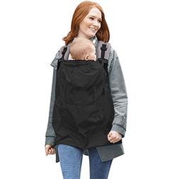 Baby Carrier Sling Cover Cloak Wind Rain Cover Hood Coat Man