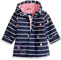 Carter's Baby Girls Her Favorite Rainslicker Raincoat, Navy