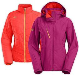 The North Face Women's Cheakamus TriClimate Jacket in Dramat