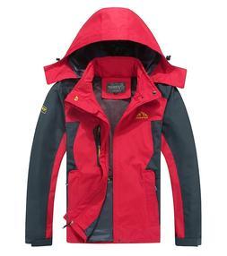 Cheerun Spmor Men's Outdoor Sports Hooded Windproof Jacket W