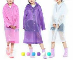 Child Raincoat Girl And Boy Rainwear Outdoor Travel Rain Gea