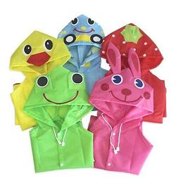 Children Boy Girl Kid Raincoat Rain Coat Rainwear Suit Ponch