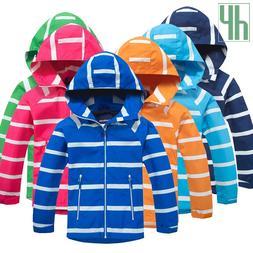 Children <font><b>jacket</b></font> Boys Girls Windbreaker F