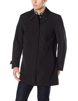 Men's Cole Haan Classic Top Coat, Size Medium - Black