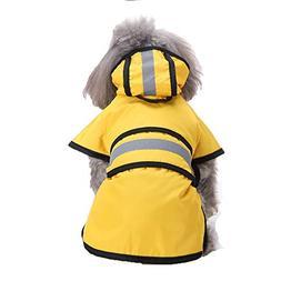 Clearance Sale ! Pet Dog Hooded Raincoat Pet Waterproof Pupp