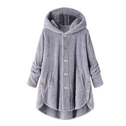 Clearance Sale Fluffy Fleece Winter Coat Plus Size,Women War