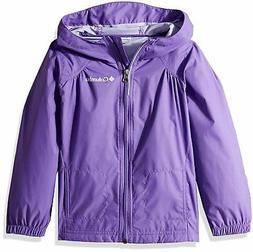Columbia Girls' Little Switchback Rain Jacket, Grape Gum, XX