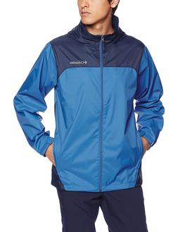 Columbia Men's Glennaker Lake Front-Zip Rain Jacket with Hid