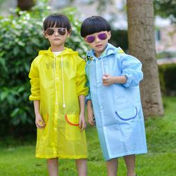 Cute Infant Rain Jacket Girl Boy Kid Cartoon Raincoat Waterp